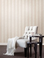 993-68609 Montague Scroll Striped Wallpaper