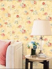 AB42418 Floral Watercolor Wallpaper