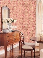 AB42423 Abby Damask Wallpaper