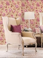 AB42439 Abby Floral Wallpaper