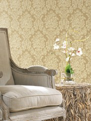 AL13704 Illusions Damask Wallpaper