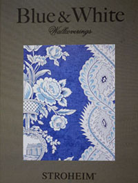 Wallpapers by Blue and White Book