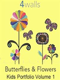 Wallpapers by Butterflies & Flowers Book