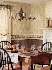 CTR09163 Gunner Heritage Plaid Wallpaper