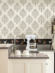 CTR64131 Arronsburg Damask Wallpaper