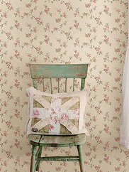 CTR64193 Valley Pink Floral Trail Wallpaper