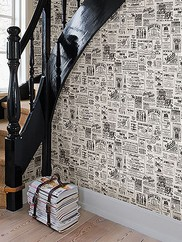 CTR64271 Adamstown Vintage Newspaper Wallpaper