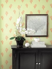 DLR54664 Coral Cove Toile Wallpaper
