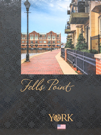 Wallpapers by Fells Point by York Wallcovering Book