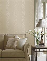 Brown Traditional Vertical Striped
