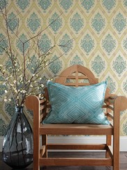 GC8736 Dressed Up Damask Wallpaper