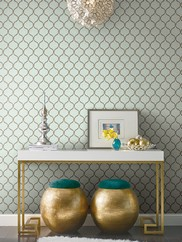 GC8773 Dot Trellis Wallpaper