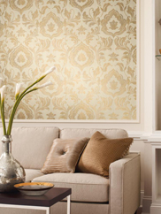 GF0702 Contempo Damask Wallpaper