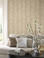 GF0815 Acanthus Stripe Wallpaper