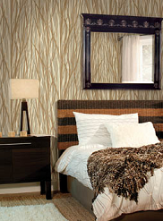 eco-chic wallpaper room scene 3