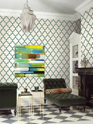 GT20602 Agate Trellis Wallpaper