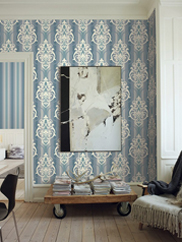 GT21702 Feldspar Damask Wallpaper