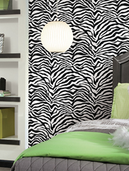 KD1798 Animal Magnetism Zebra Stripe Wallpaper