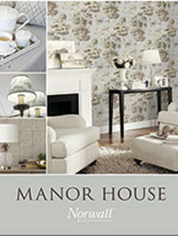 Wallpapers by Manor House by Norwall Book