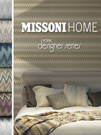 Wallpapers by Missoni Home Book