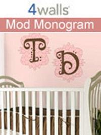 Wallpapers by Mod Monogram Collection Book