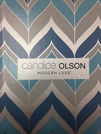 Wallpapers by Modern Luxe by Candice Olson Book