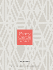 Wallpapers by Moderne by Stacy Garcia Book