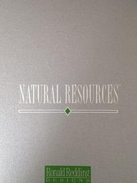 Wallpapers by Natural Resources by Ronald Redding Book