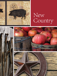 Wallpapers by New Country Book