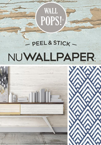 NuWallpaper Peel & Stick by Wall Pops!
