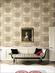ON40409 Acanthus Leaves, Damask Wallpaper