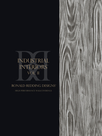 Wallpapers by Ronald Redding Industrial Interiors Vol II Book