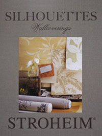 Wallpapers by Silhouettes Wallcovering Book