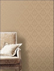 SK34706 Silk Damask Wallpaper