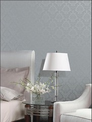 SK34746 Silk Damask Wallpaper
