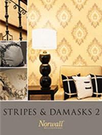 Wallpapers by Stripes & Damasks 2 Book