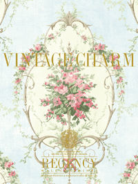 Wallpapers by Vintage Charm Book