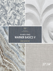 Wallpapers by Warner Basics V Book