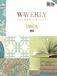 Wallpapers by Waverly Classics 2 Book
