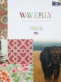 Wallpapers by Waverly Global Chic Book