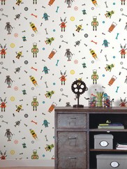 WK6740 Some Assembly Required Childrens Wallpaper