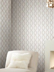 Y6150304 Pink Ogee Wallpaper