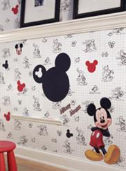 Disney Wallpaper Book - Disney Wall Decor Collection