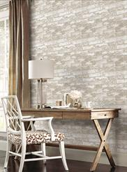 Textured White Rustic Brick