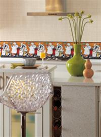 Kitchen And Bath Wallpaper Borders | Total Wallcovering