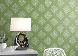 Lime Henna Tile AT7029