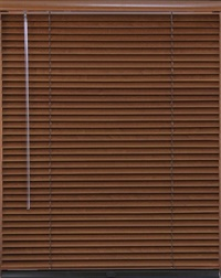 1 Inch Veneto Natural Wood Blind with Lift & Lock