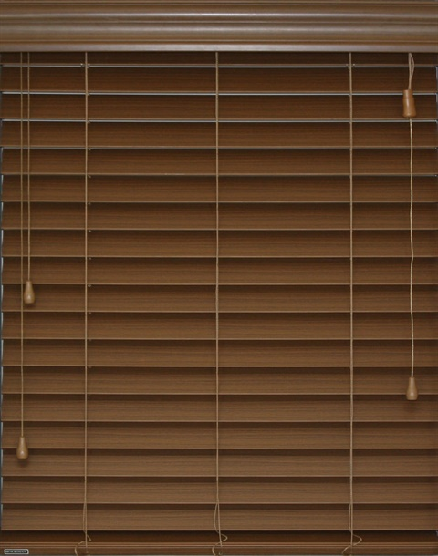 2 Inch Corded Smart Privacy Faux Wood Blind