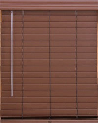 2 Inch Premium Faux Wood  Blind with Lift & Lock
