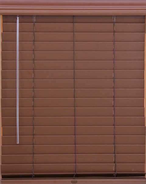 2 Inch Faux Wood Lift And Lock Blinds Tb204